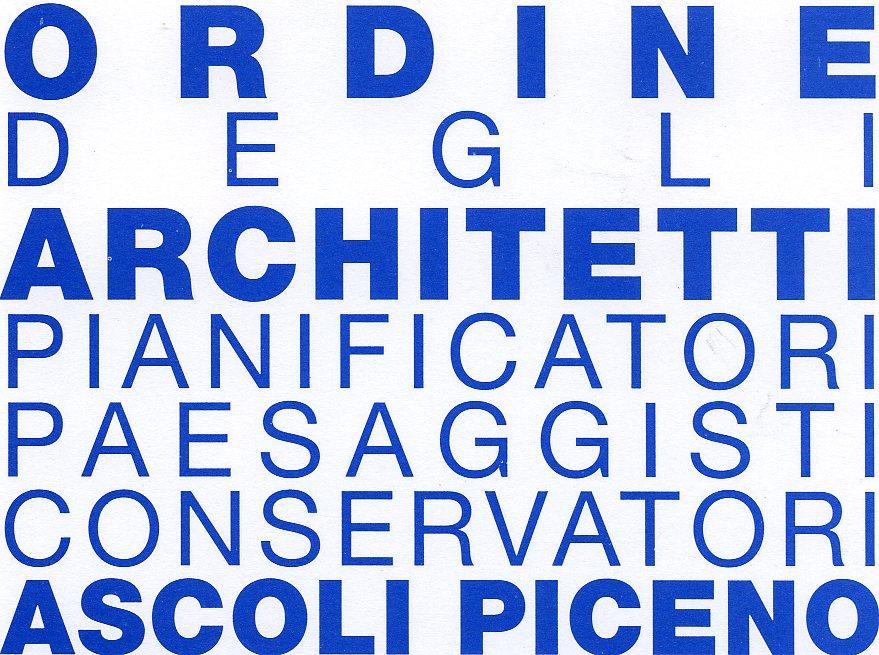 logo Ordine Architetti di Ascoli Piceno