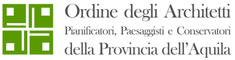 logo Ordine Architetti L'Aquila
